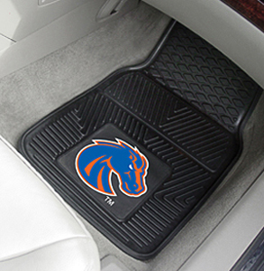 Boise State University 2-Piece Vinyl Car Mats