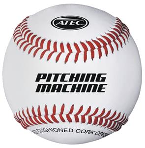 Leather Baseball Pitching Machine Ball  (Dozen)