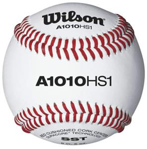 Wilson NFHS Baseballs Grade B Leather (10 DOZ)