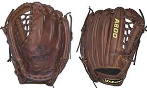 "Wilson A800 11.75"" Infield Pitcher Baseball Glove"