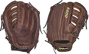 "Wilson A800 12.5"" Outfield Baseball Glove"