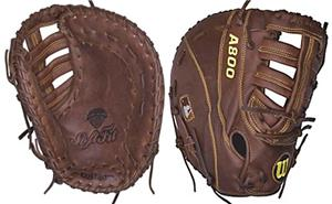 "Wilson A800 12"" 1st Base Baseball Glove"