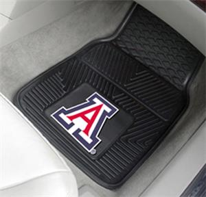 University of Arizona 2-Piece Vinyl Car Mats