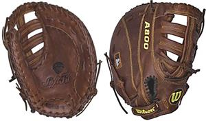 "Wilson A800 11.5"" Youth 1st Base Baseball Glove"