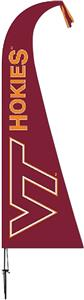 COLLEGIATE Virginia Tech Hokies Feather Flag