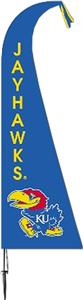 COLLEGIATE Kansas Jayhawks Feather Flag