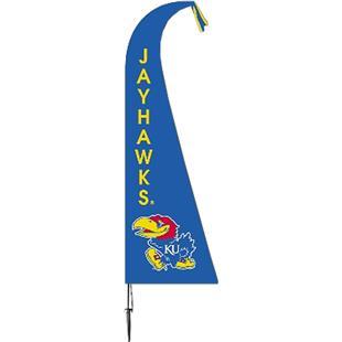 COLLEGIATE Kansas Jayhawks Feather Flag
