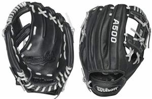 "Wilson A500 All Position 10.75"" Baseball Glove"