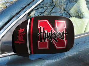 Fan Mats University of Nebraska Small Mirror Cover