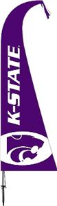 COLLEGIATE Kansas State Wildcats Feather Flag