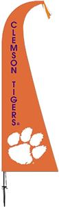COLLEGIATE Clemson Tigers Feather Flag