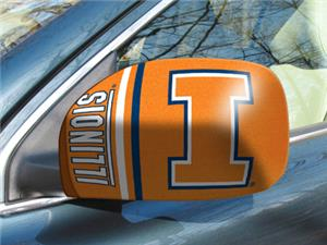 Fan Mats University of Illinois Small Mirror Cover