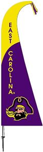 COLLEGIATE East Carolina Pirates Feather Flag