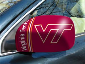 Fan Mats Virginia Tech Univ. Small Mirror Covers