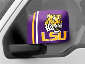 Fan Mats Louisiana State Univ. Large Mirror Covers