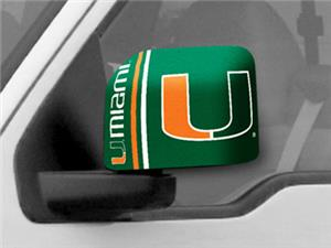 Fan Mats University of Miami Large Mirror Covers