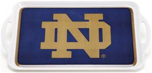 COLLEGIATE Notre Dame Melamine Serving Tray