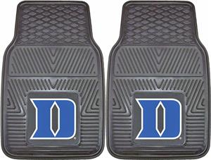 Fan Mats Duke University 2-Piece Vinyl Car Mats