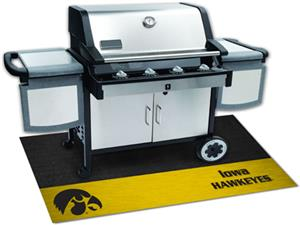 Fan Mats University of Iowa Grill Mats