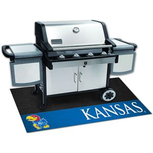 Fan Mats University of Kansas Grill Mats