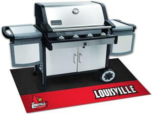 Fan Mats University of Louisville Grill Mats