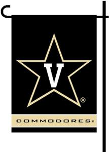 "COLLEGIATE Vanderbilt 2-Sided 13""x18"" Garden Flag"