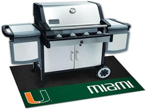 Fan Mats University of Miami Grill Mats