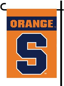 "COLLEGIATE Syracuse 2-Sided 13"" x 18"" Garden Flag"