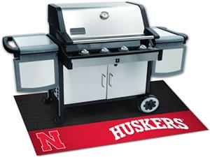 Fan Mats University of Nebraska Grill Mats