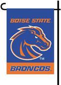 """COLLEGIATE Boise State 2-Sided 13""""x18"""" Garden Flag"""