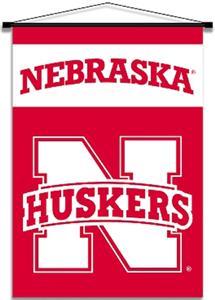 COLLEGIATE Nebraska Indoor Banner Scrolls