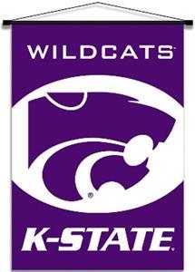 COLLEGIATE Kansas State Indoor Banner Scrolls