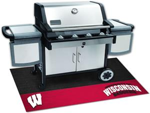 Fan Mats University of Wisconsin Grill Mats