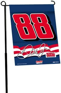 "NASCAR Dale Jr. #88 2-Sided 13"" x 18"" Garden Flag"