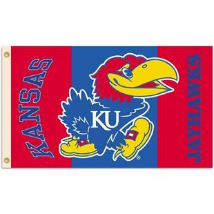 COLLEGIATE Kansas Jayhawks 2-Sided 3' x 5' Flag
