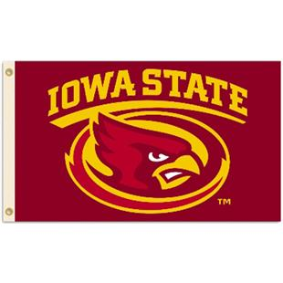 COLLEGIATE Iowa State 2-Sided 3' x 5' Flag