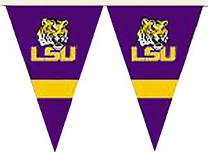 COLLEGIATE LSU Tigers Party Pennant Flags