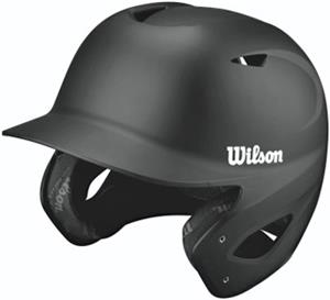 Wilson Collegiate 2.0 Fitted Matte Baseball Helmet