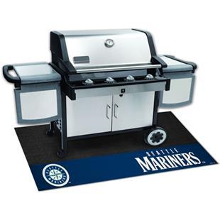Fan Mats MLB Seattle Mariners Grill Mats