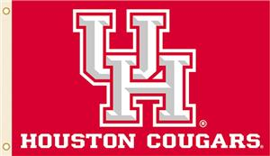 COLLEGIATE Houston Cougars 3' x 5' Flag