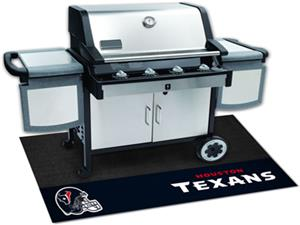 Fan Mats NFL Houston Texans Grill Mats