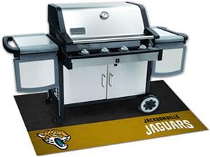 Fan Mats NFL Jacksonville Jaguars Grill Mats