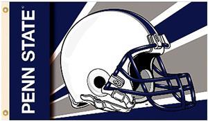 COLLEGIATE Penn State Helmet 3' x 5' Flag
