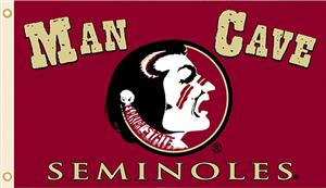 Collegiate Florida State Man Cave 3' x 5' Flag