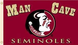 Collegiate Florida State Man Cave 3' x 5' Flag