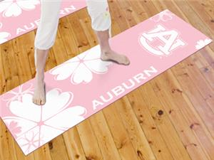 Fan Mats Auburn University Yoga Mat