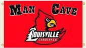 Collegiate Louisville Man Cave 3' x 5' Flag
