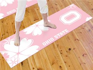 Fan Mats Ohio State University Yoga Mat