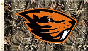 COLLEGIATE Oregon State Realtree Camo 3' x 5' Flag