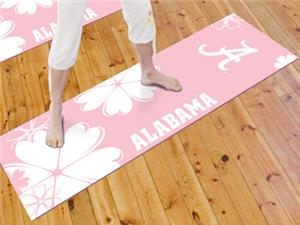 Fan Mats University of Alabama Yoga Mat